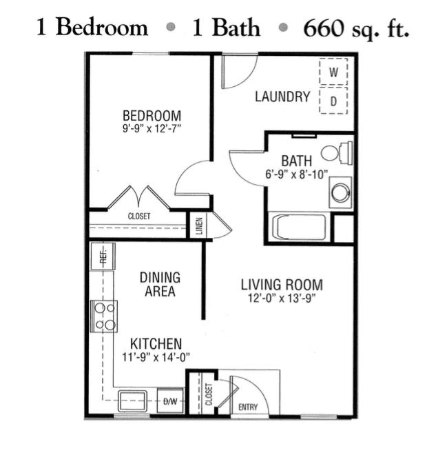 honeycreek senior apartments